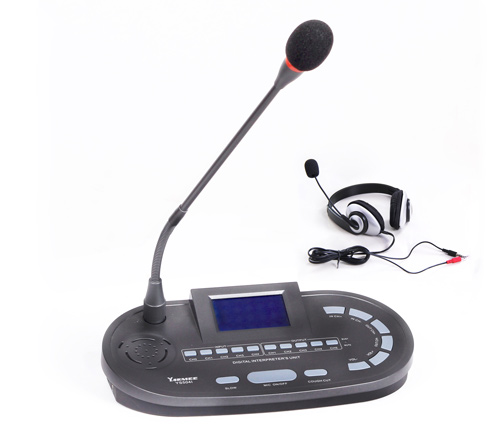 YS504 analog 4 CH-simultaneous interpretation system