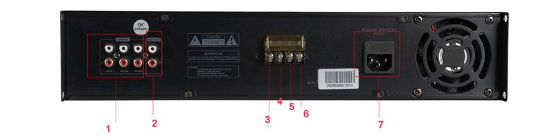 Mixer Amplifier PA060WT