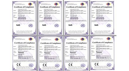 Félicitations, produits YARMEE tout au long du CE et RoHS!